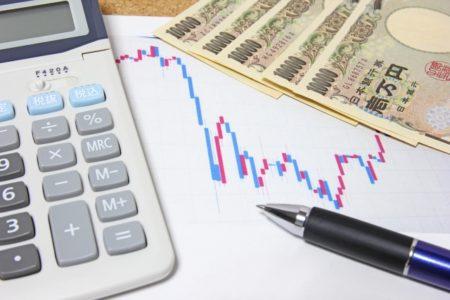 チャートと計算機とお金